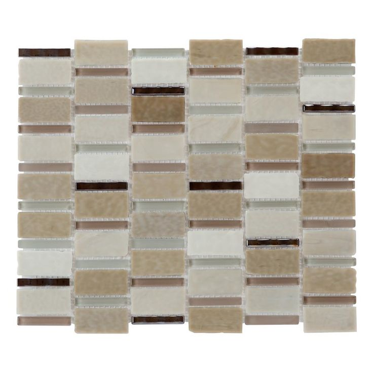 Allen and Roth Mosaic Wall Tile