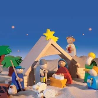 HABA Wooden Nativity | Nativity Scenes!!! / Nacimientos!!! | Pintere ...