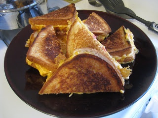 grilled ham and cheese waffle grilled cheese and pickle grilled cheese ...