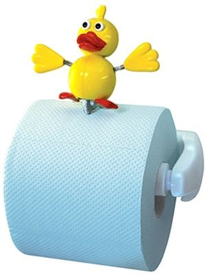 Funny toilet paper holders for the kids Funny toilet paper holders