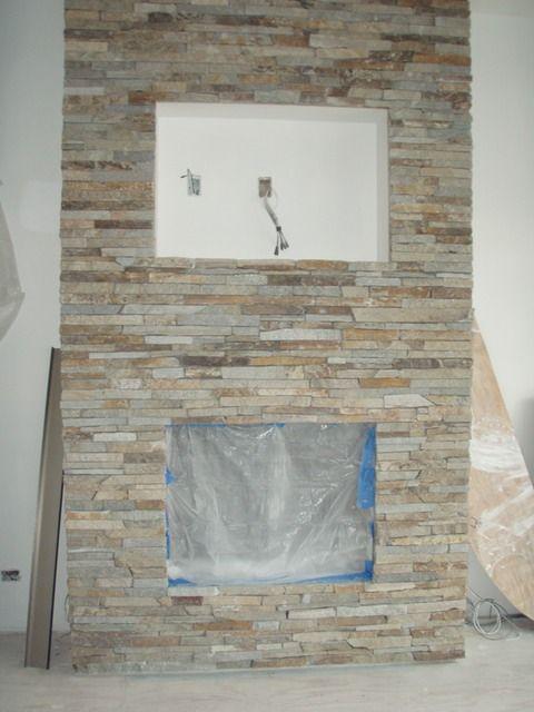 Ledgestone For Fireplace Decorating amp Design Pinterest