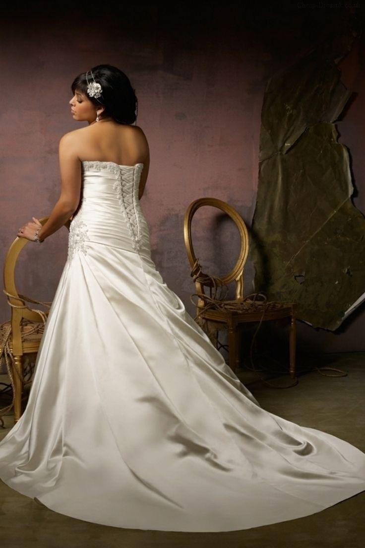 Second Hand Plus Size Wedding Dresses 13