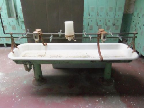 Industrial Wash Sink Utility Pedestal Sink Trough eBay