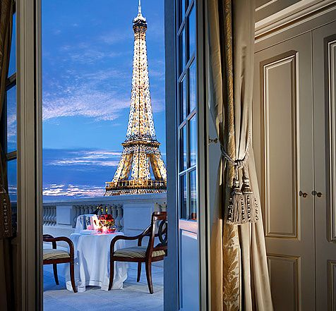 beautiful view in Paris