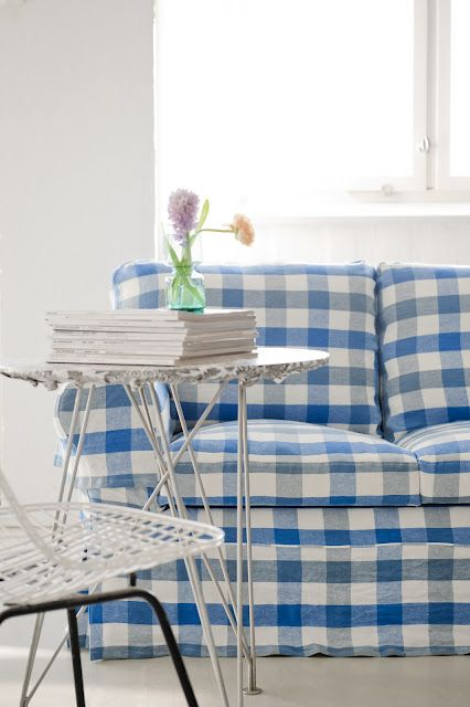 New gorgeous designers guild slipcovers for ikea furniture - Forro para sofa ...