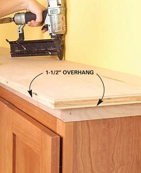 how to add shelves above kitchen cabinets how to add shelves above kitchen cabinets family handyman