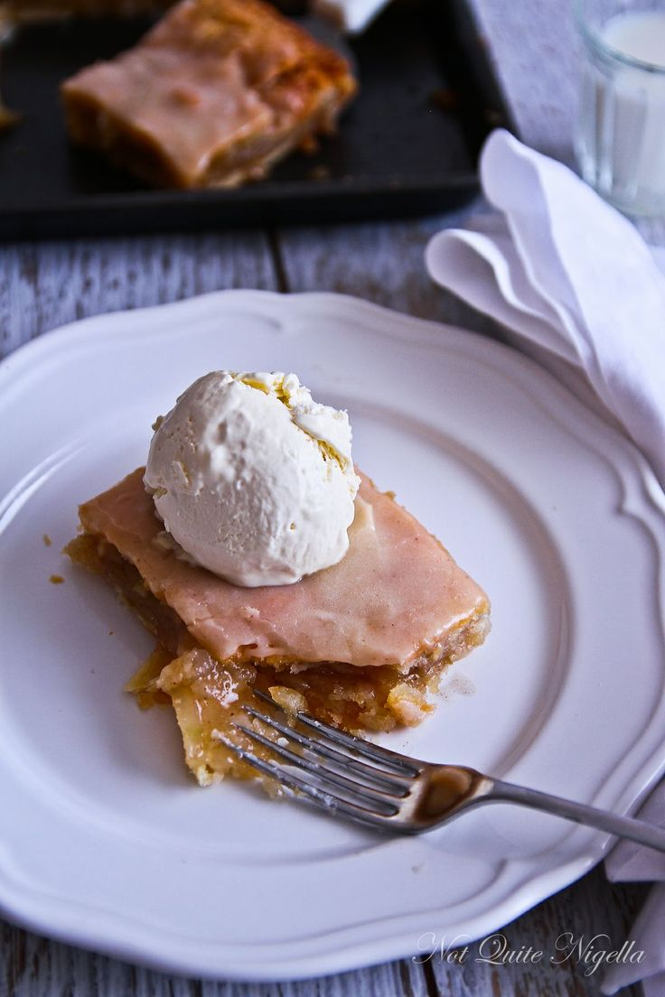 apple-slab-pie | Sweets :) | Pinterest