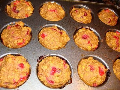 Applesauce Pumpkin Muffins (use gluten free flour, sub maple syrup for ...