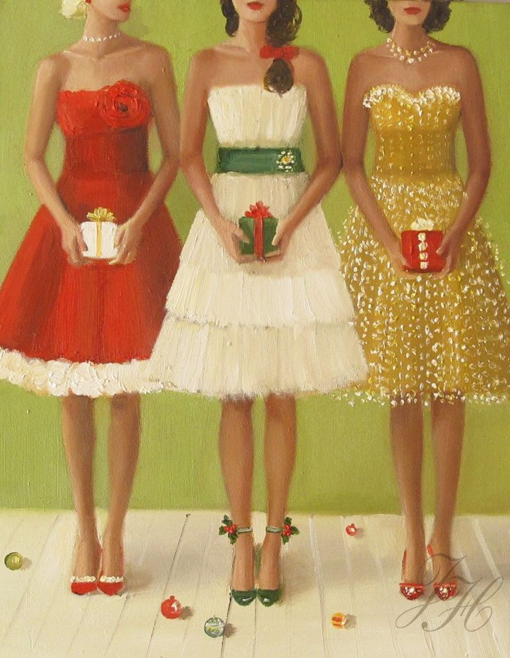 Christmas party cheer art pinterest