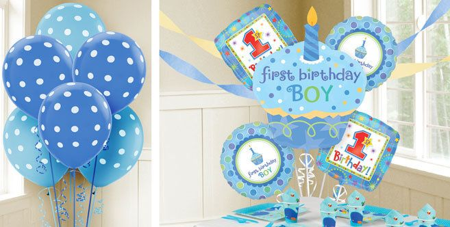 Pinterest for 1st birthday party decoration for boys