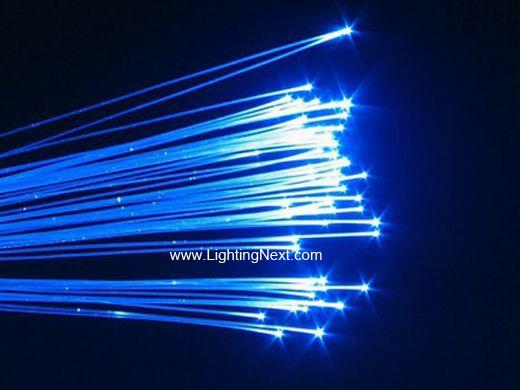 End Glow Plastic Fiber Optic Cable Lighting Design With LED Fiber I