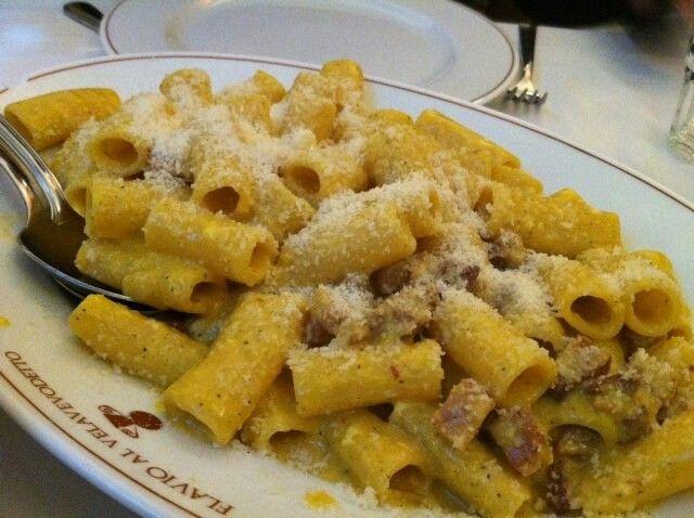 Rigatoni alla GRICIA | Roma. . . vista dai romani | Pinterest