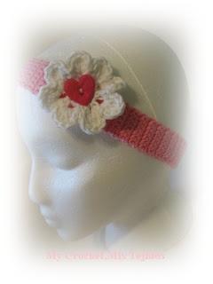 My Crochet , Mis Tejidos: Headband -Tutorial / Diadema -Paso a Paso