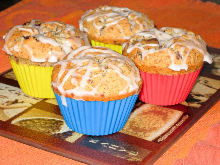 Orange Ricotta Chocolate Chip Muffins | M is for Muffins | Pinterest