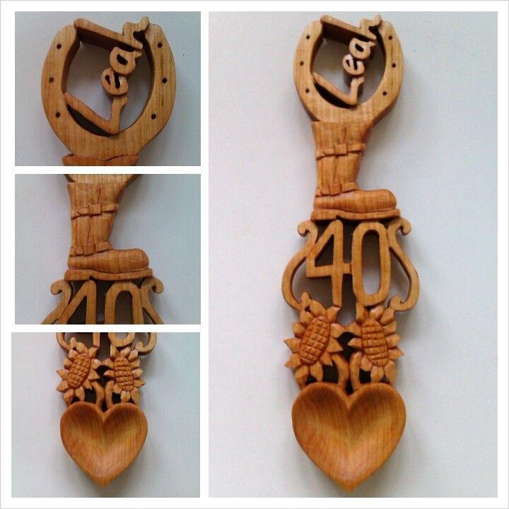 Love spoon carving | Wood Carvings | Pinterest