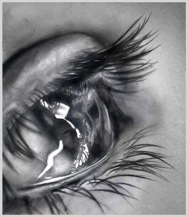 Dibujo Lapiz Ojo Ojos Realistas Dibujo Imagui