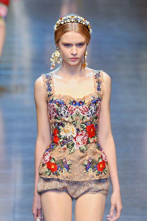 Dolce and Gabbana: 2012