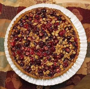 Cranberry Walnut Tart - JSOnline | food and drink | Pinterest