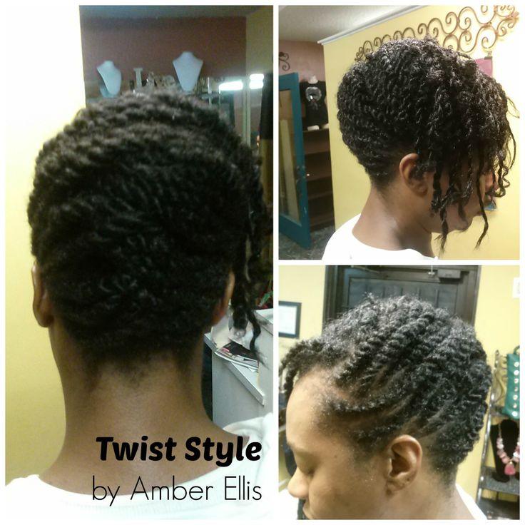 Nappybliss Natural Hair Salon Natural twist/braidstyles Pinterest