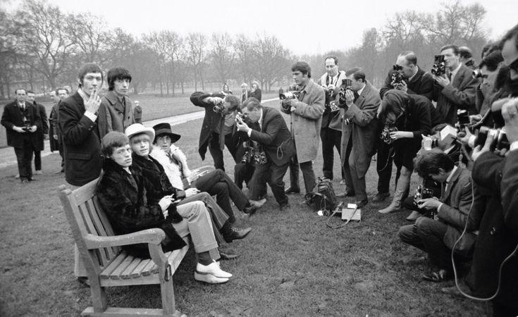 Rolling Stones Green Park, London UK