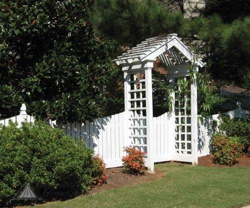 Arbor gate Pretty Garden Ideas Pinterest
