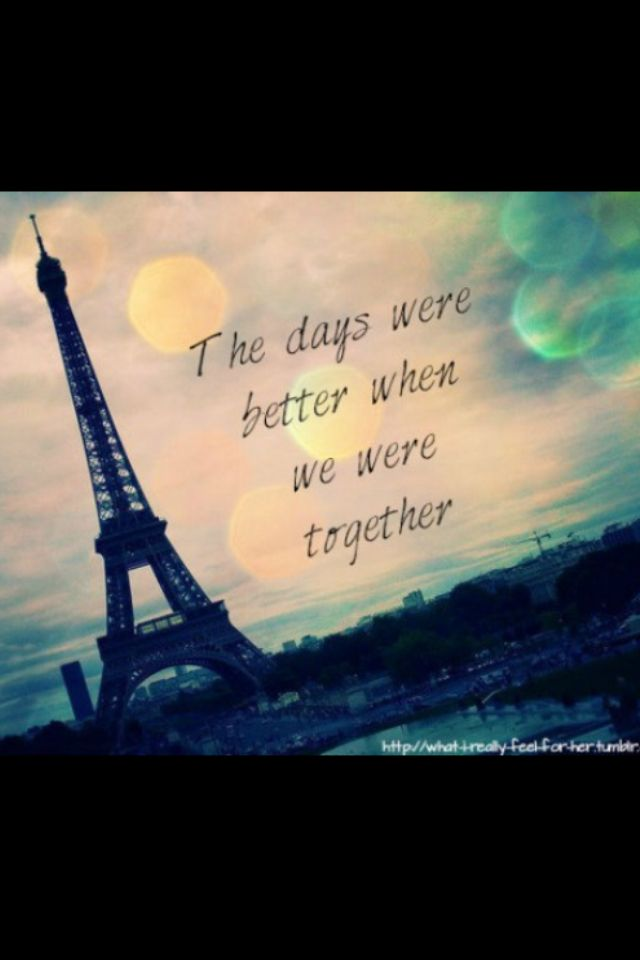 Romantic Quotes About Paris