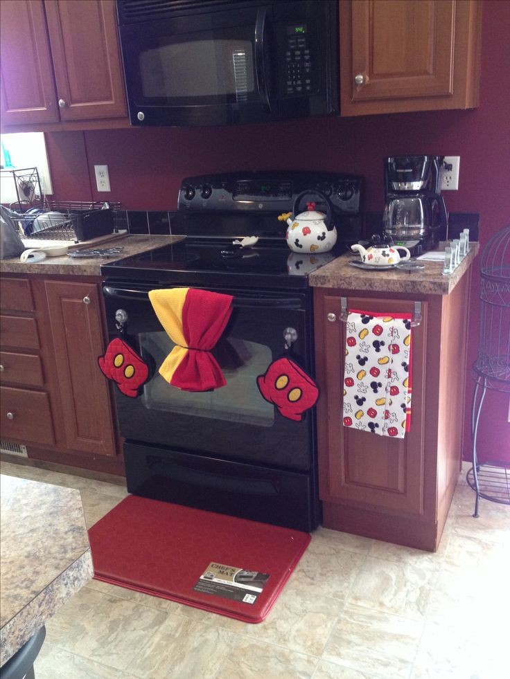 Mickey Mouse Kitchen For The Home Pinterest