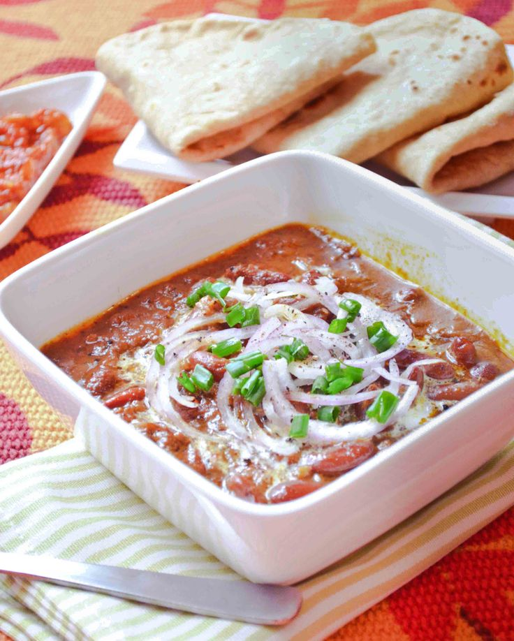 Rajma – Red Kidney Beans Curry | Beans, Beans and More Beans ...