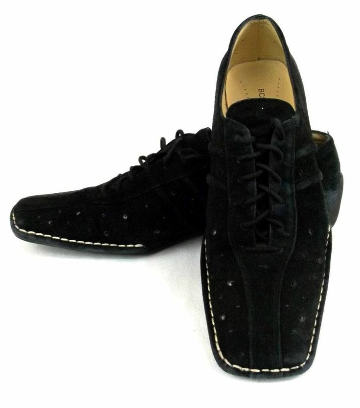 Bcbg maxazria suede athletic comfort lace up oxfords loafers shoes wo