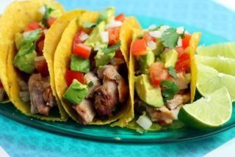 Beer-Marinated Chicken Tacos Recipe | Bon Appétit | Pinterest