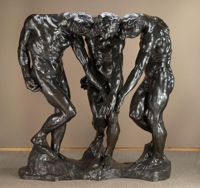 The Three Shades, Auguste Rodin, NCMA