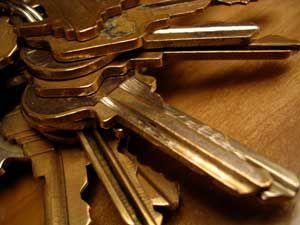 Craft uses for old keys