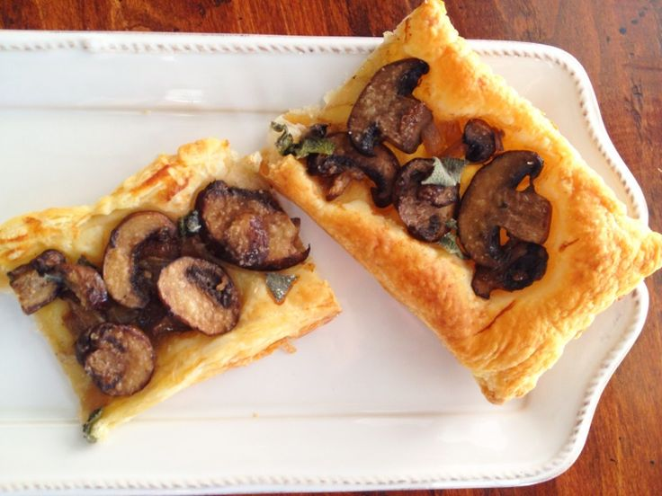 Mushroom Tart | Favorite Recipes | Pinterest