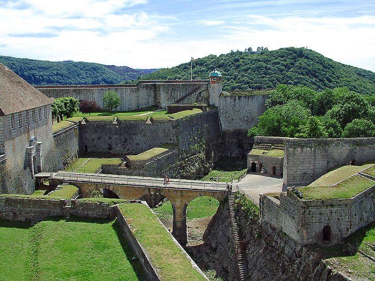 Besancon - la citadelle France Pinterest