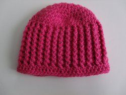 Ribbed Beanie Free Pattern and Tutorial - delia creates