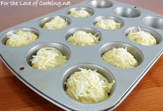 For the Love of Cooking » Parmesan-Corn Bread Muffins