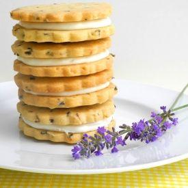 Lovely Lemon Filled Lavender Shortbread | I love...Cheshire food show ...