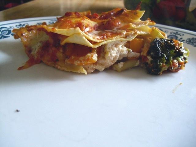 Roasted vegetable lasagna | Recipe ideas | Pinterest