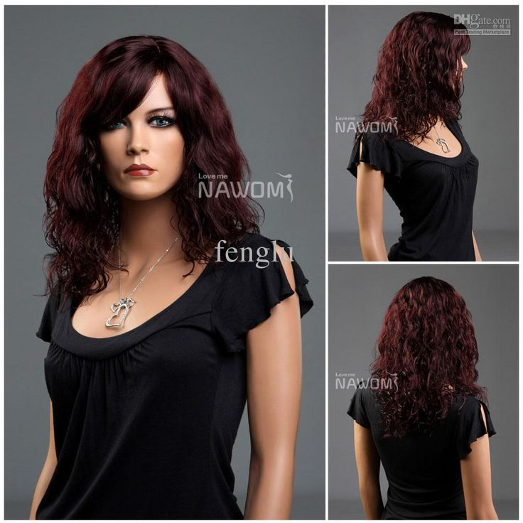 red wine hair color | All About Hair | Pinterest