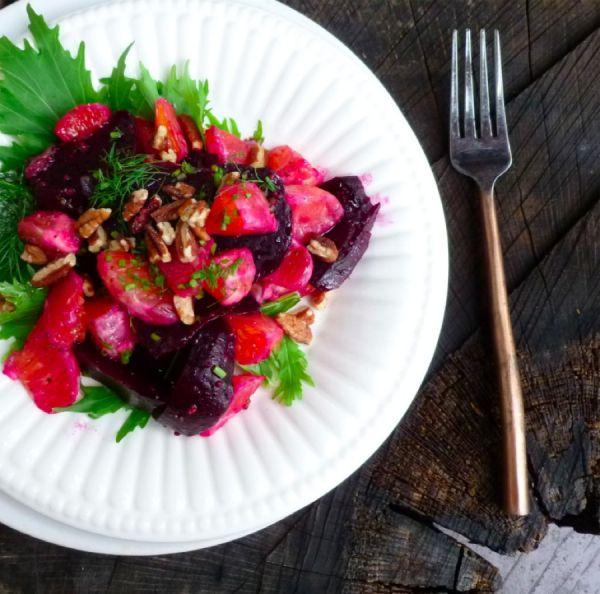 Beet and Orange Salad with Fennel | Salads | Pinterest