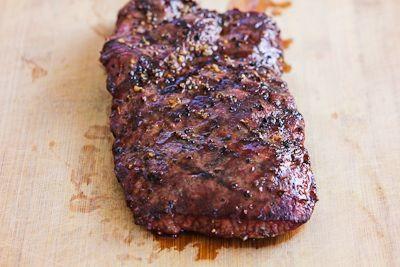 ... Kitchen®: Grilled Flat Iron Steak Recipe with Chimichurri Sauce
