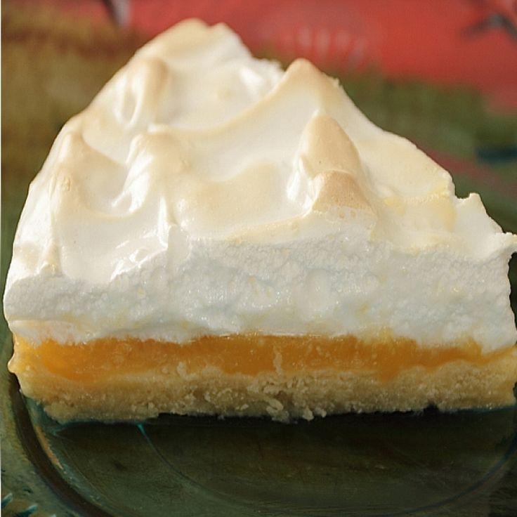 orange meringue pie. This is a fun twist from the lemon meringue pie ...