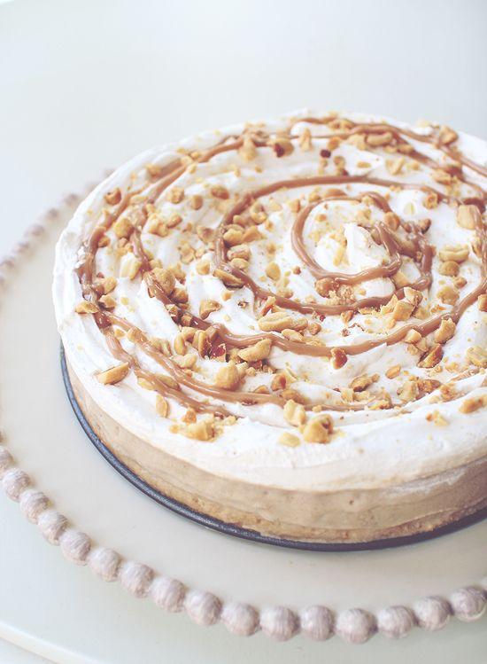 Frozen Yogurt Peanut Butter Banana Cream Pie