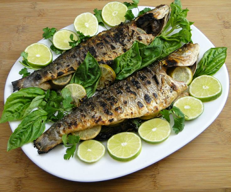 Grilled Branzino With Rosemary Vinaigrette Recipes — Dishmaps
