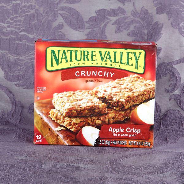 ... Breakfast Bars - Nature Valley Crunchy Granola Bars Apple Crisp 252
