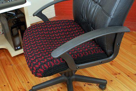 Crocheted Seat Cover By Planetjune Haken Pinterest