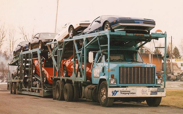 Pin By Ed On Car Haulers Past And Present Pinterest