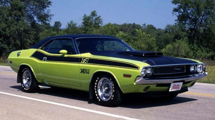 Quot 70 Dodge Challenger Ta 440 Six Pack Cars Pinterest