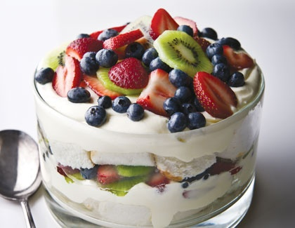 Berry Delicious Angel Food Trifle