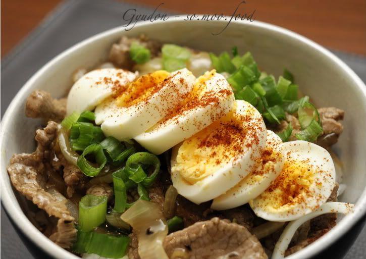 Japanese beef bowl rice (Gyudon) | Food/ Recipes | Pinterest